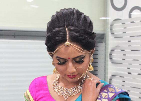Bridal-makeup-service-Bangalore